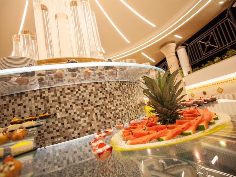 Decorazioni Buffet Frutta : Sabbia doro hotel il gran buffet di dolci e frutta